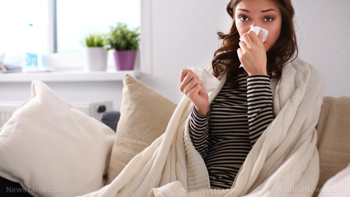 Image: Cold and flu symptoms get eliminated with bio-botanical formulas safely and effectively