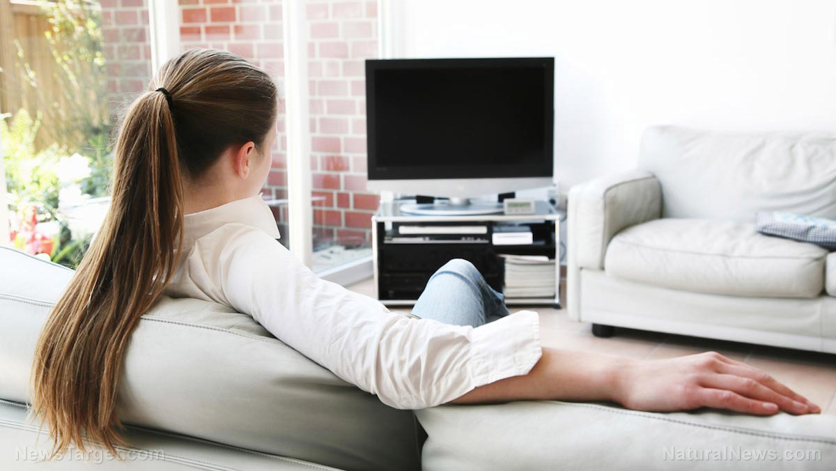 Image: Inactivity doubles your risk of blood clots: New study says sitting around, like when watching TV, raises risk even in those who exercise