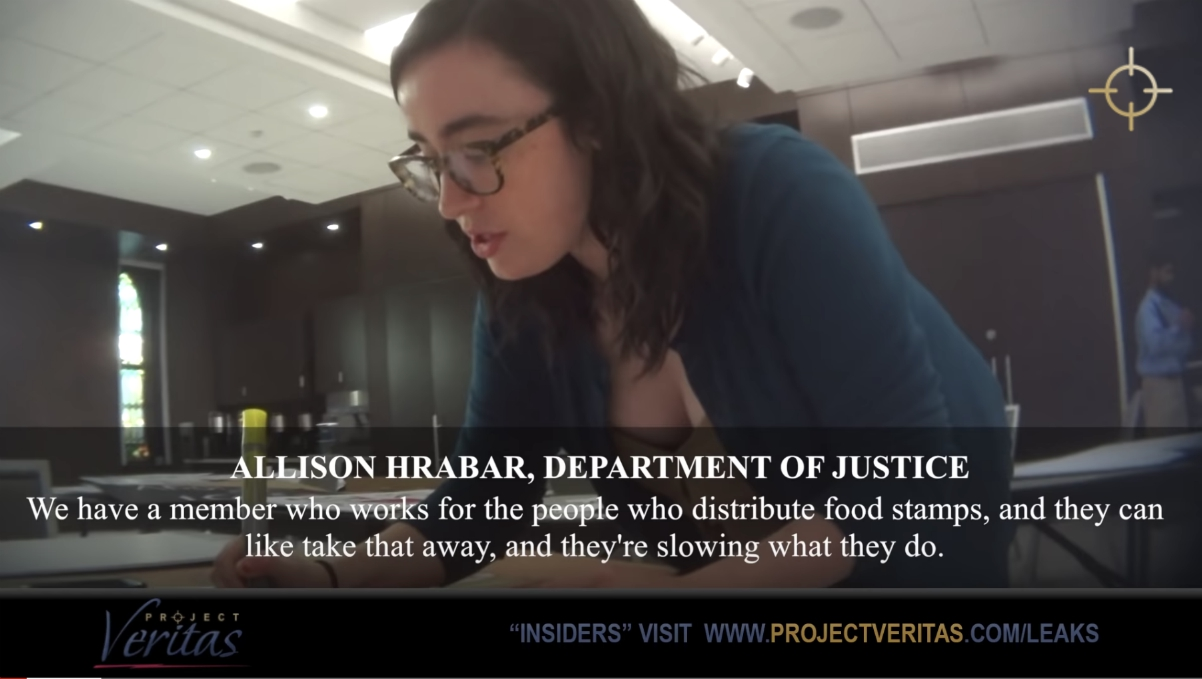 Image: Bombshell Project Veritas undercover investigation reveals how government bureaucrats are ENEMIES of the people, working from the inside to weaponize government