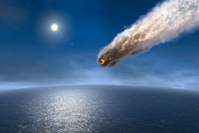 Image: Asteroid that killed the dinosaurs also cooled Earth's climate; more proof temperatures have ebbed and flowed over eons