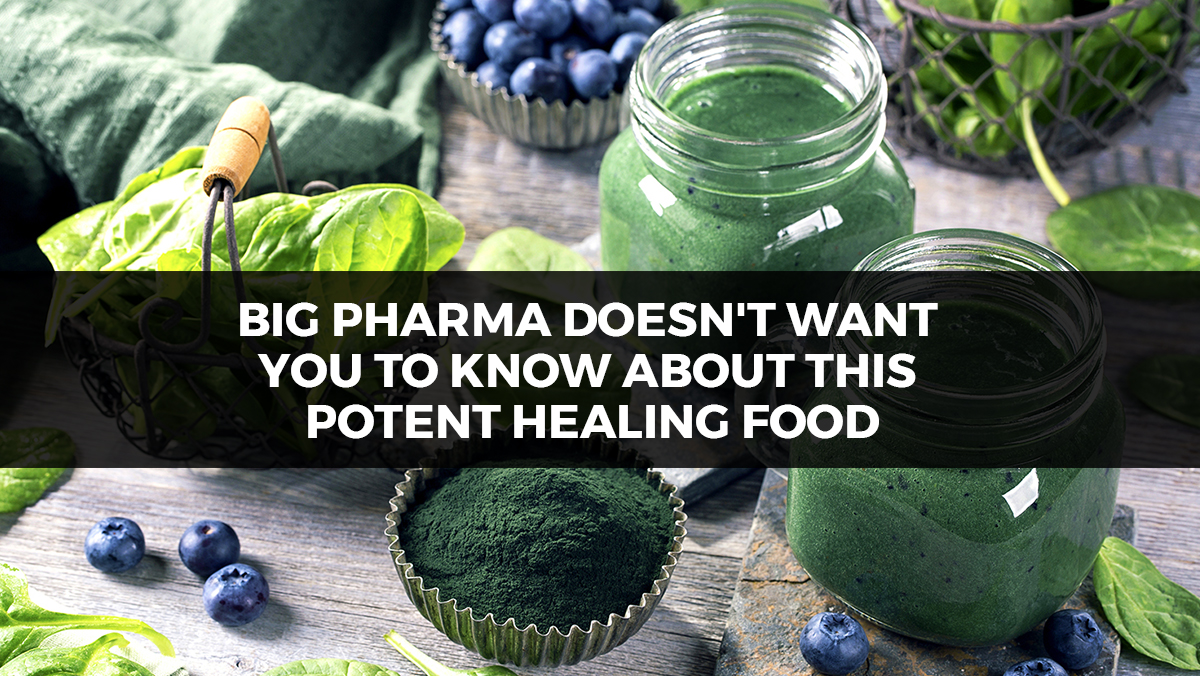 Image: Big pharma doesn't want you to know about this potent healing food