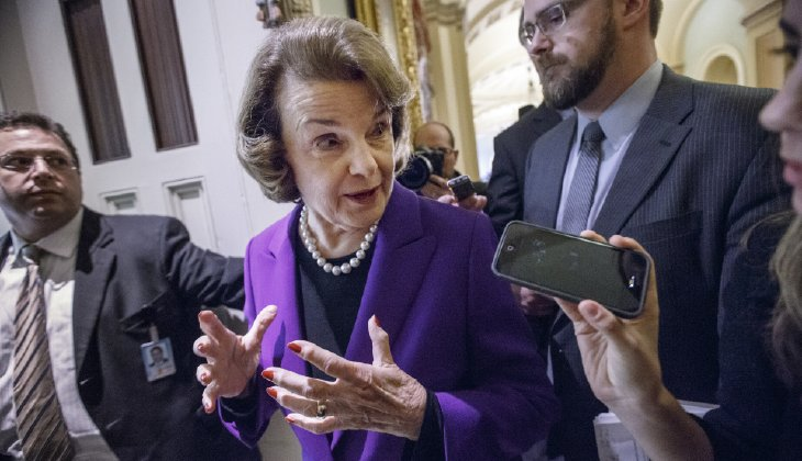 "Image: Dianne Feinstein the ""fixer"" – Same Democrat who may have forged Kavanaugh accusation letter hosted a Chinese spy for decades"