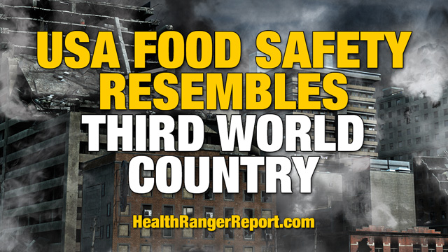 Image: USA food safety resembles third world country, says the Health Ranger