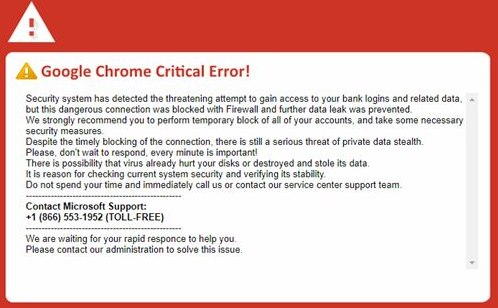 "Image: Google Chrome browser gives ""Critical Error"" notice when you play Project Veritas videos EXPOSING crooked deep-state ""Democratic"" communists"