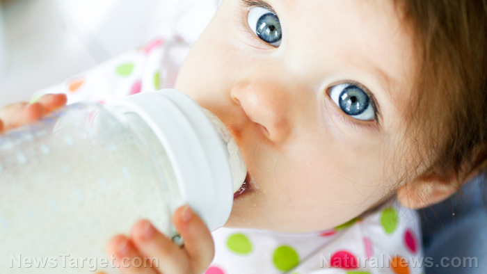 Image: Researchers add prebiotics to infant formula in an effort to improve learning, memory, brain development to match that of breastfed babies