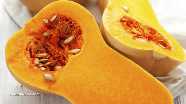 Image: Butternut squash is a yummy way to boost your vitamin C levels