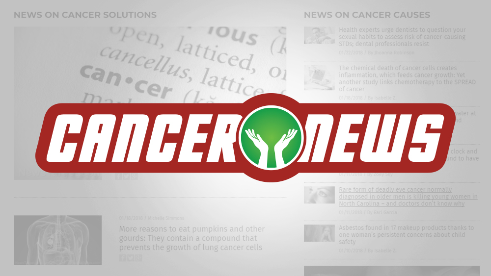 Image: Health Ranger announces CANCER.news, featuring evidence-based news on cancer causes, cancer solutions