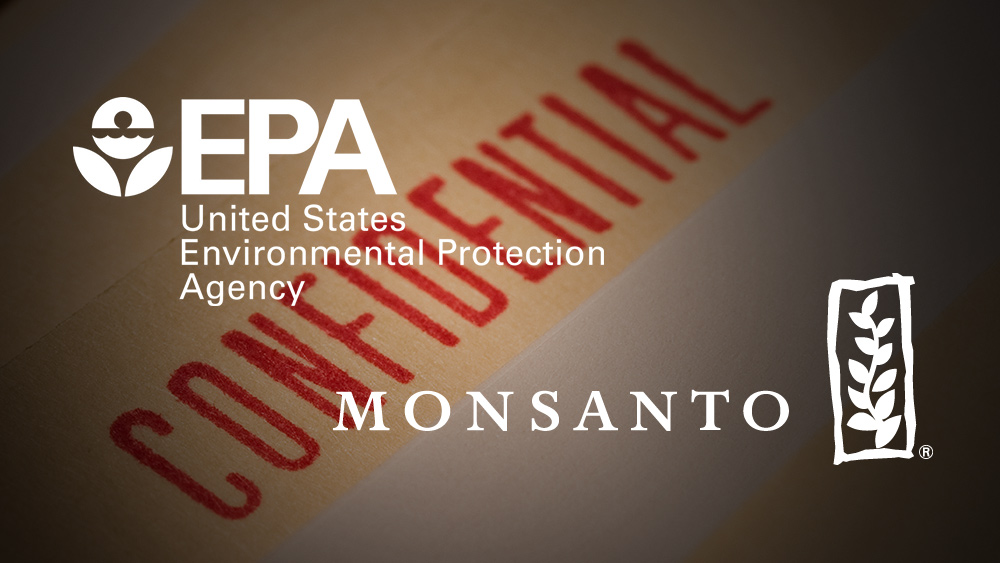Image: Evidence the corrupt EPA colluded with Monsanto to delay toxicology review of their controversial herbicide glyphosate