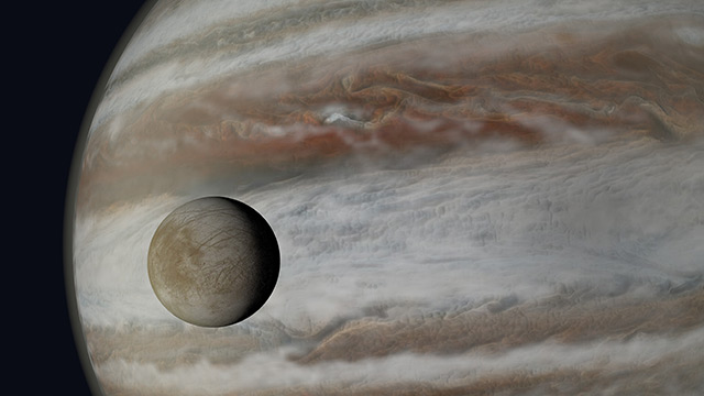 Image: Astronomers say that Europa may have alien life, and it won't be hard to find