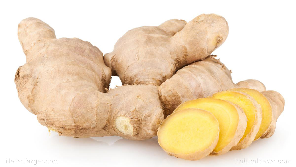 Image: The essential oils of ginger repel cockroaches naturally