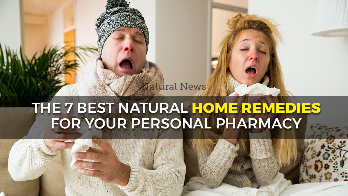 Image: The 7 best natural home remedies for your personal flu season pharmacy (recipes included)