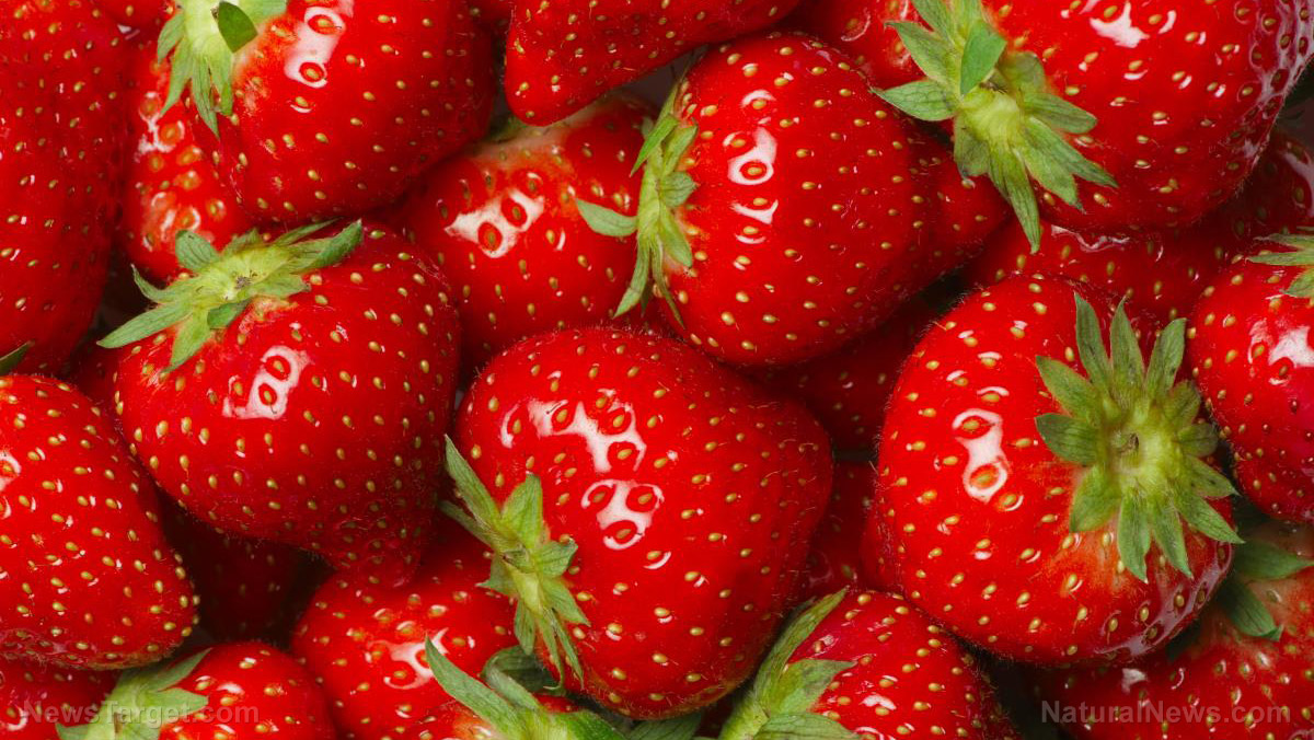Image: Strawberries top the Dirty Dozen list AGAIN as the most pesticide-ridden crop you can eat
