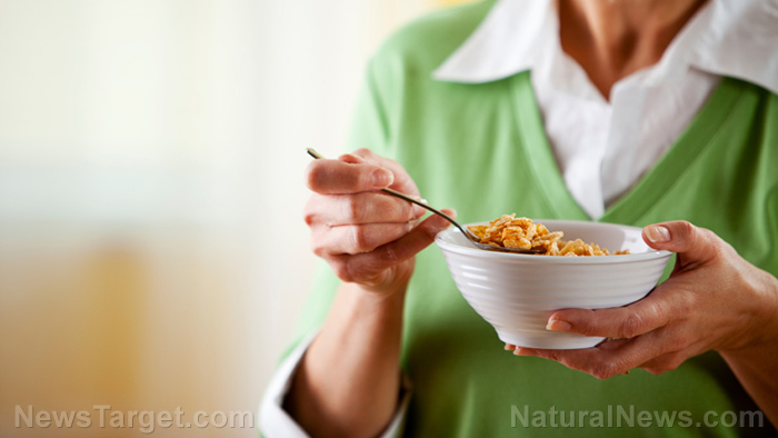 Image: Eating a bowl of cornflakes for breakfast spikes up your blood sugar — even if you're healthy