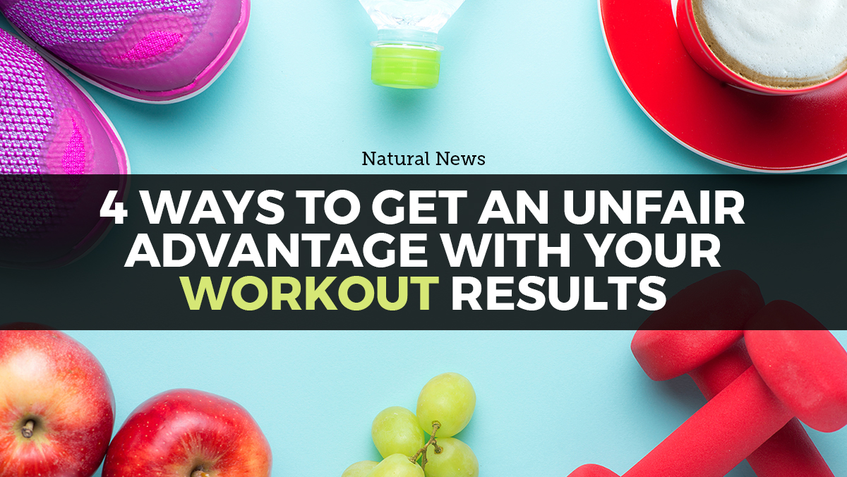 Image: Top 4 ways to get an unfair advantage (naturally) with your workout results