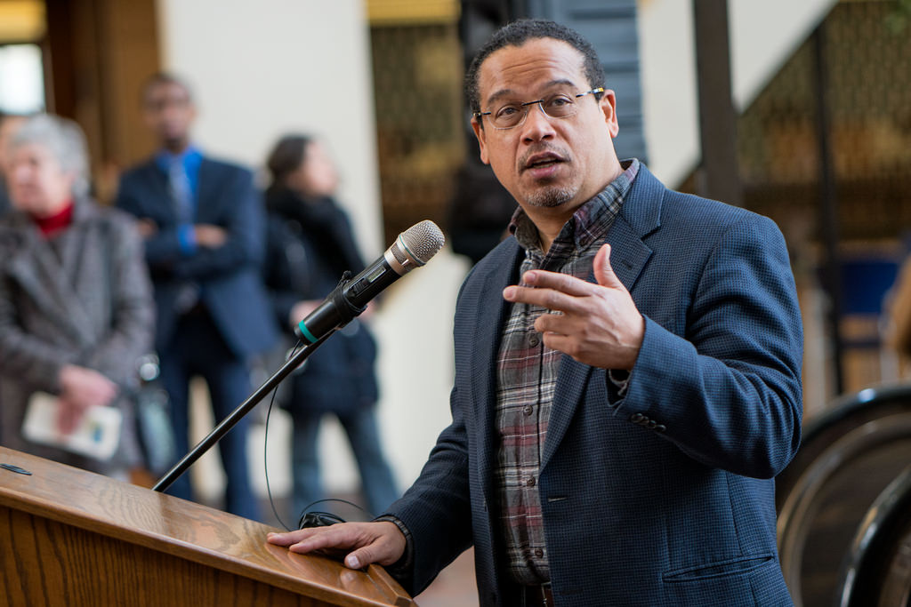 Image: Stunning hypocrisy: Dem probe of sex abuse charges against Rep. Keith Ellison finds allegations alone NOT enough to conclude guilt