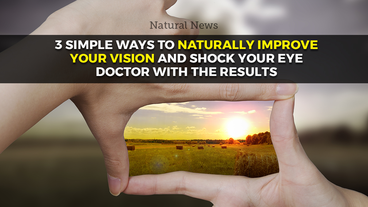 Image: 3 simple ways to naturally support your vision and shock your eye doctor with the results