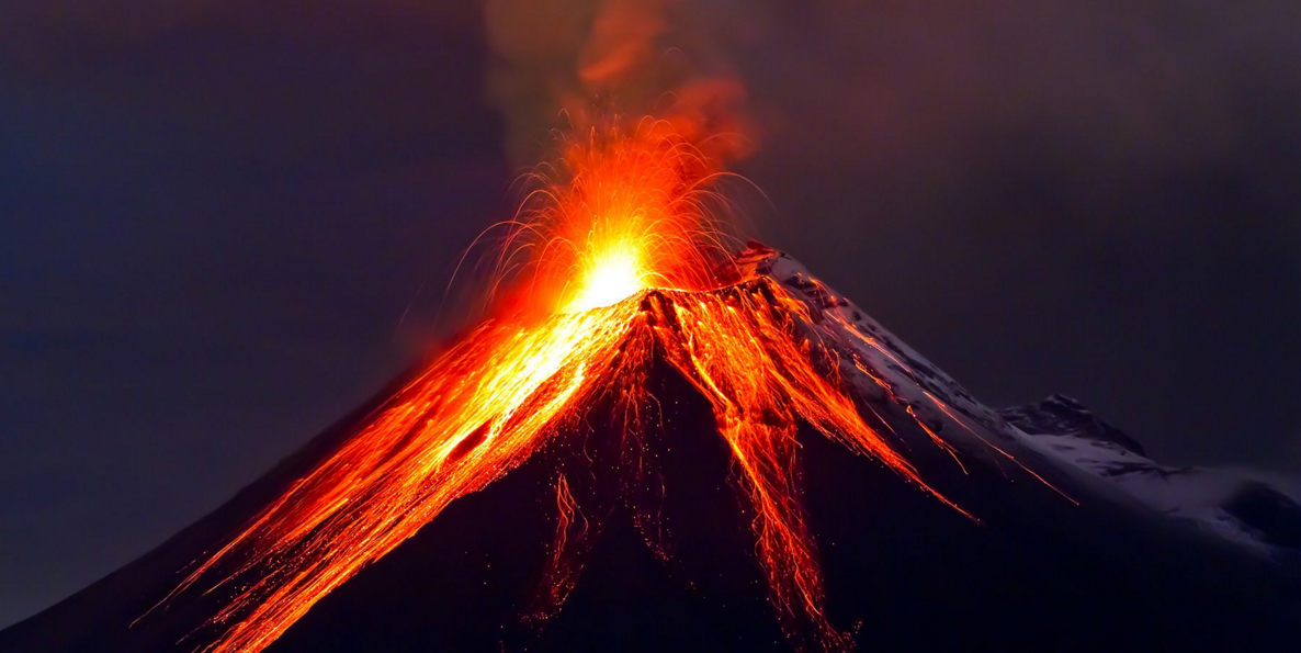 Image: Another blow to the global warming argument: Volcanic eruptions can melt ice sheets thousands of miles away, according to recently discovered ancient evidence
