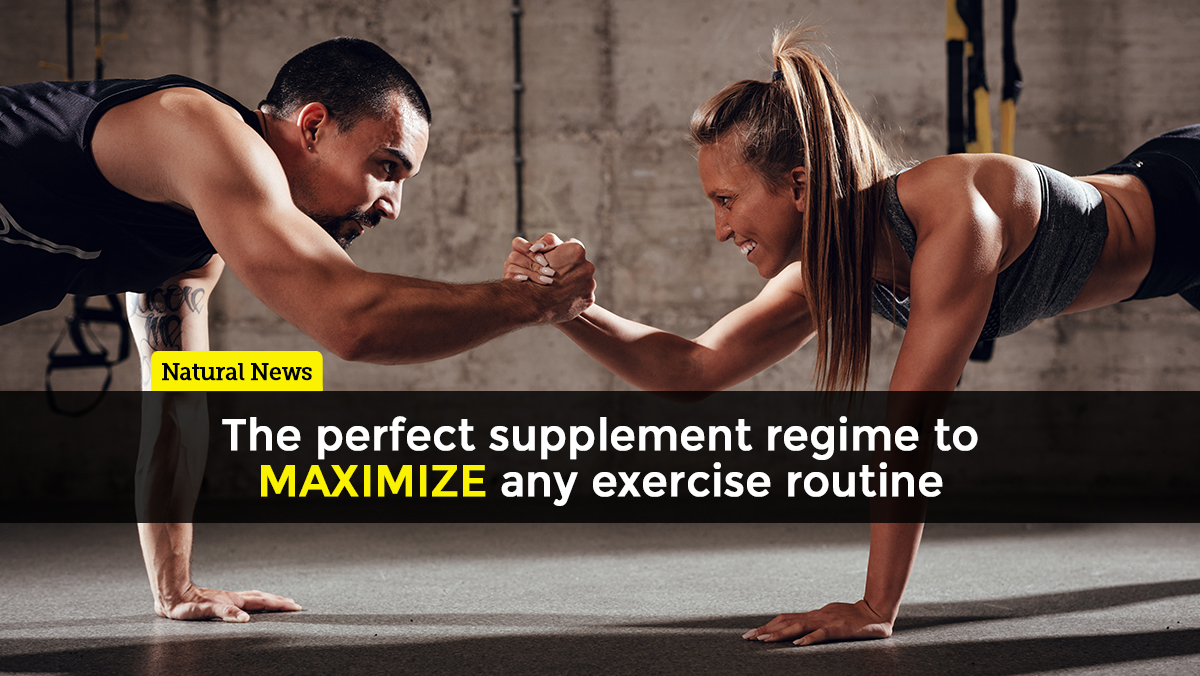 Image: The perfect supplements to MAXIMIZE any exercise routine