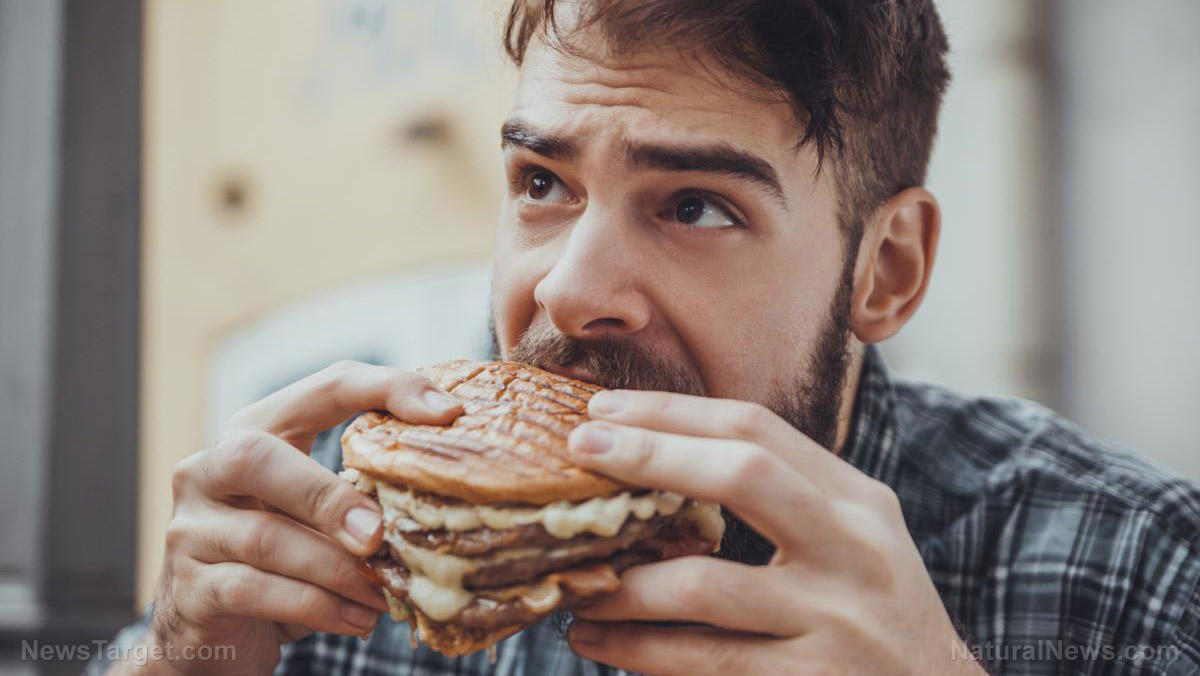 Image: Why burgers are bad for you: Study shows processed food and toxic ingredients cause cancer