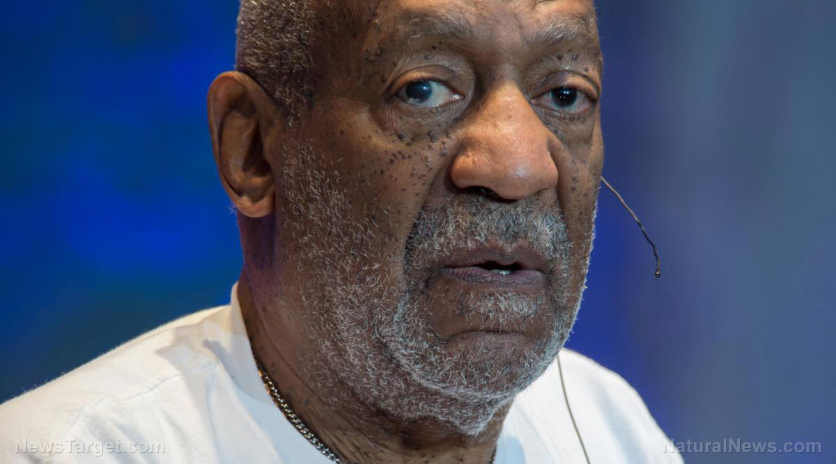 Image: A tale of two Bills: Cosby goes to jail for 30 years for sexually abusing women but Bill Clinton can rape them and remain free