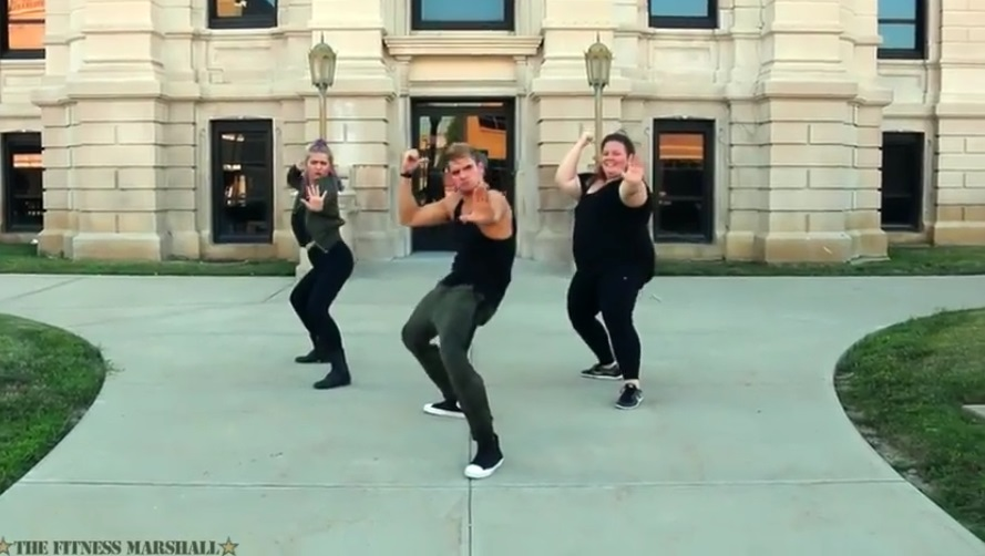 "Image: The Fitness Marshall takes Brighteon.com by storm, unleashing ""Dance Workout"" videos that are a must-see"