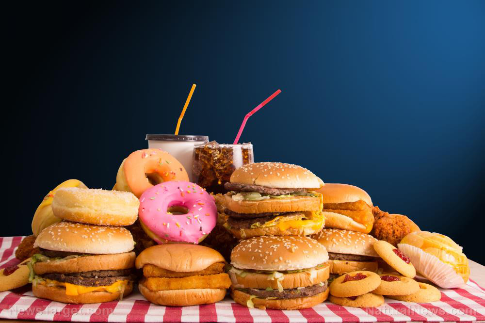 Image: Large study reveals that junk food really DOES increase your risk for cancer