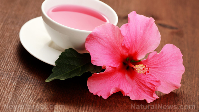 Image: Drink hibiscus tea to naturally lower your blood pressure