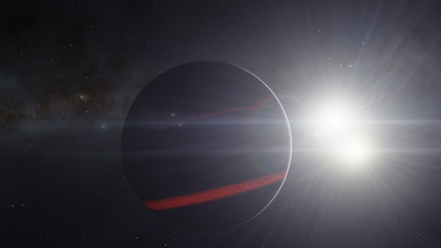 Image: The hottest known exoplanet found to have skies made out of iron and titanium