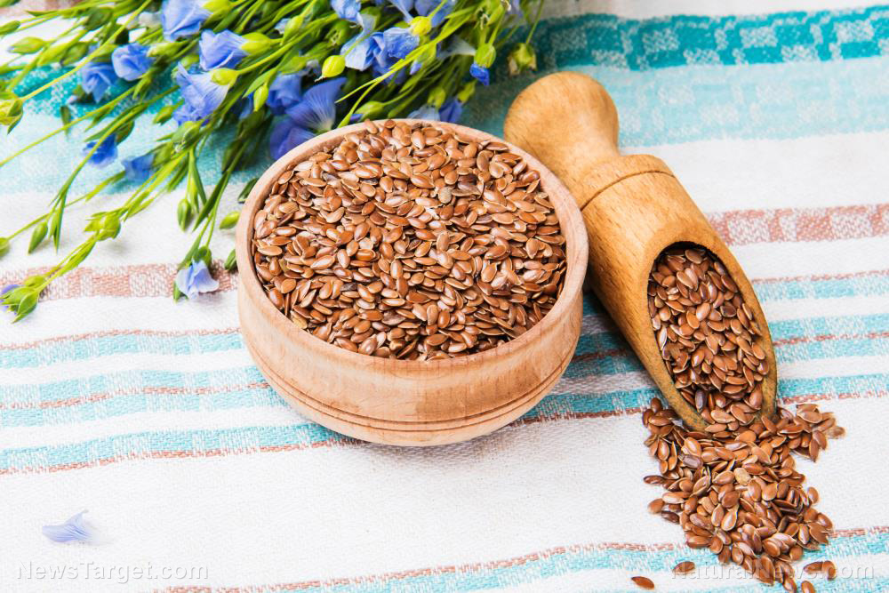 Image: Flaxseed is one of the world's most important medicinal foods