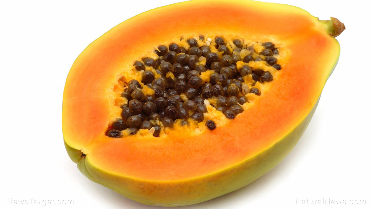 Image: Food scientists: Eat more wild papaya for a stronger immune system