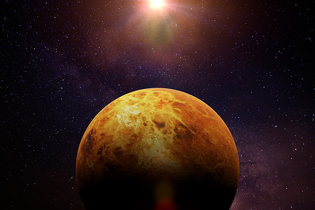 Image: NASA says that aliens live on Venus, but they're only microbes