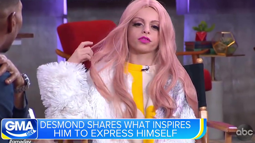 Image: Left-wing media pushing transgender children propaganda on daytime television
