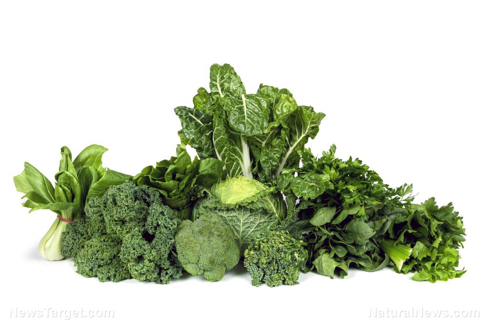 Image: Green, leafy vegetables can decrease your risk of glaucoma by 20%