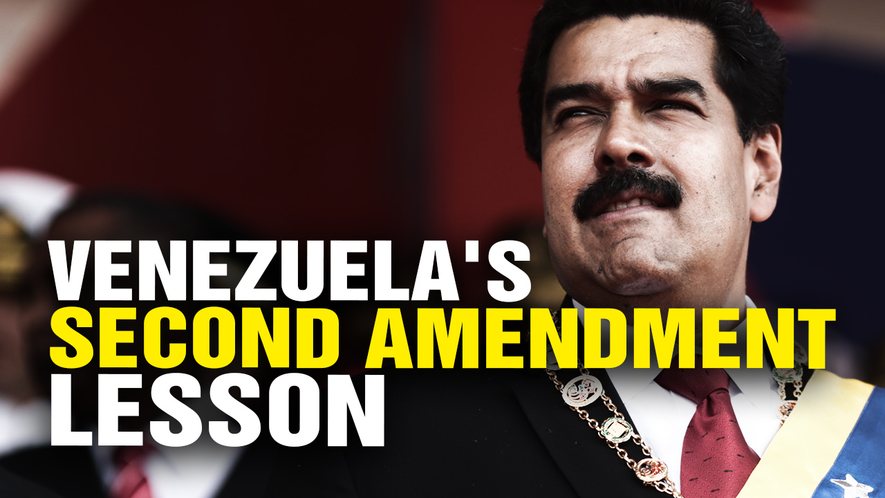 Image: Massive humanitarian crisis in Venezuela could have been PREVENTED if the people hadn't surrendered all their guns to a corrupt government regime