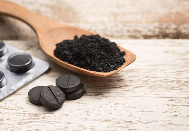 Image: The many uses of activated charcoal as a dietary supplement