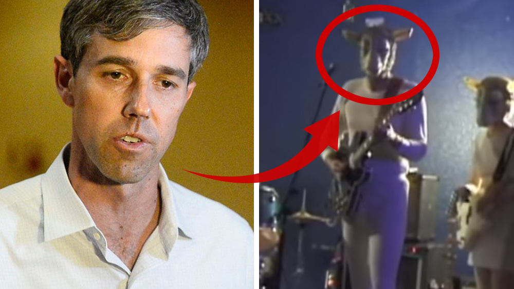 "Image: Celebrated Democrat ""Beto"" O'Rourke outed wearing ""Devil goat"" costume; left-wing media tries to spin narrative away from Satanism"