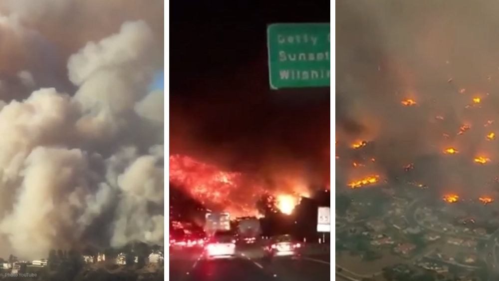 "Image: California's electricity giant PG&E accused of being arsonists… ""clear-cut pattern of starting fires"""