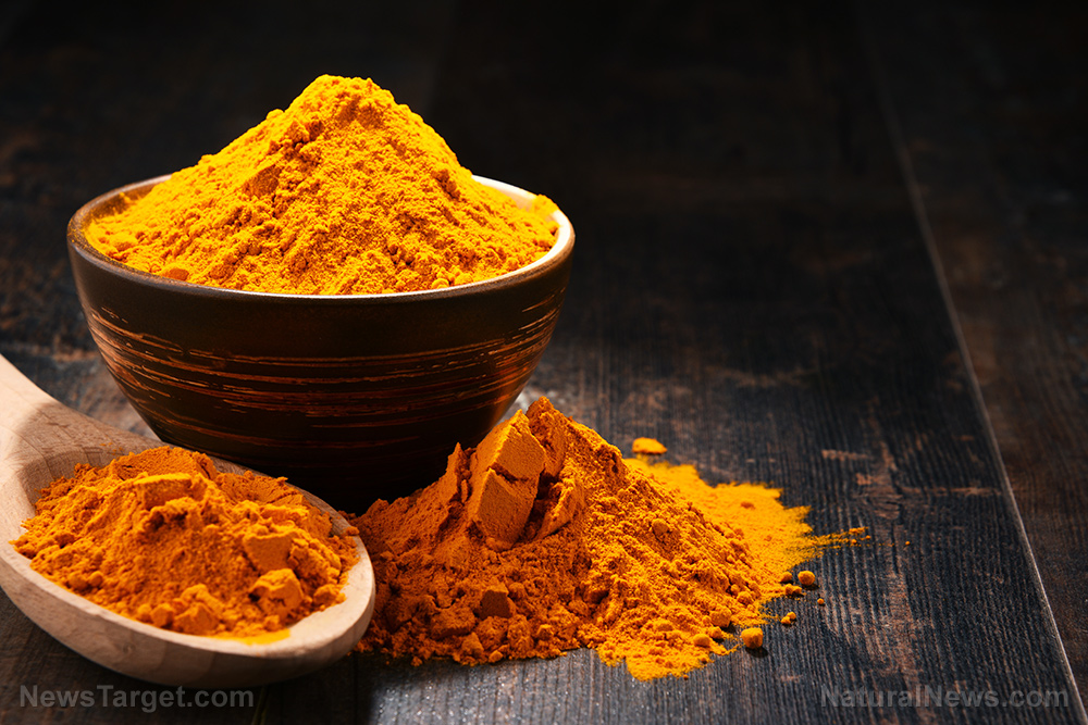 Image: Turmeric studied for its ability to seek out and destroy cancer stem cells, the source of all tumors