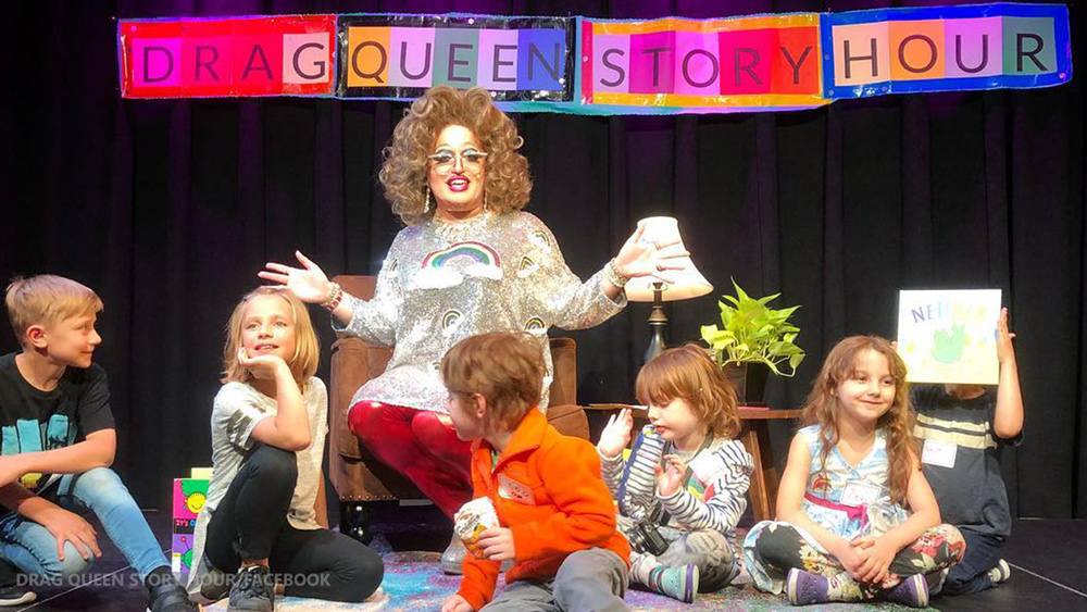 "Image: Creepy creator of ""Drag Queen Story Hour"" admits to ""grooming"" children to become transgender queers and drag queens"