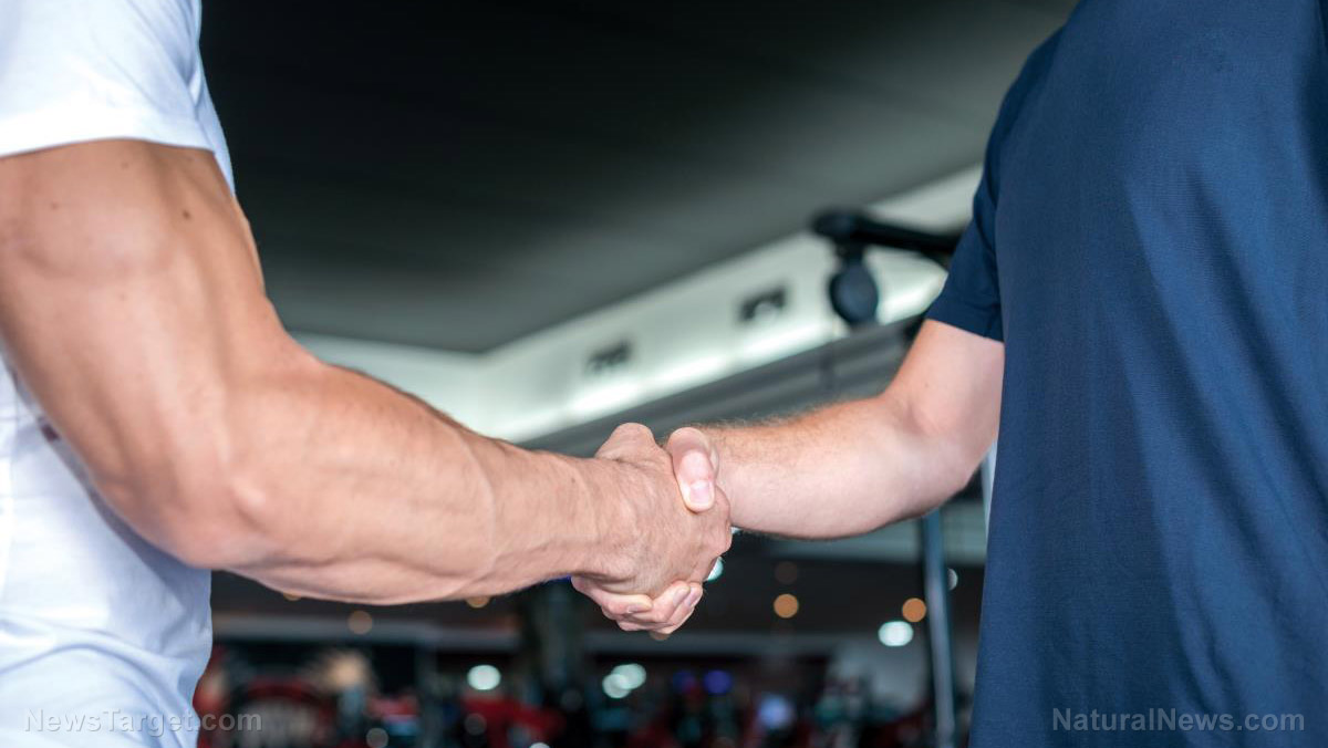 Image: Your handshake may be a good indicator of how healthy your brain is