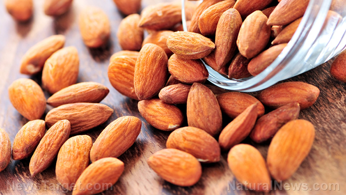 Image: Eating 15 almonds a day lowers bad cholesterol levels and decreases the risk for diabetes