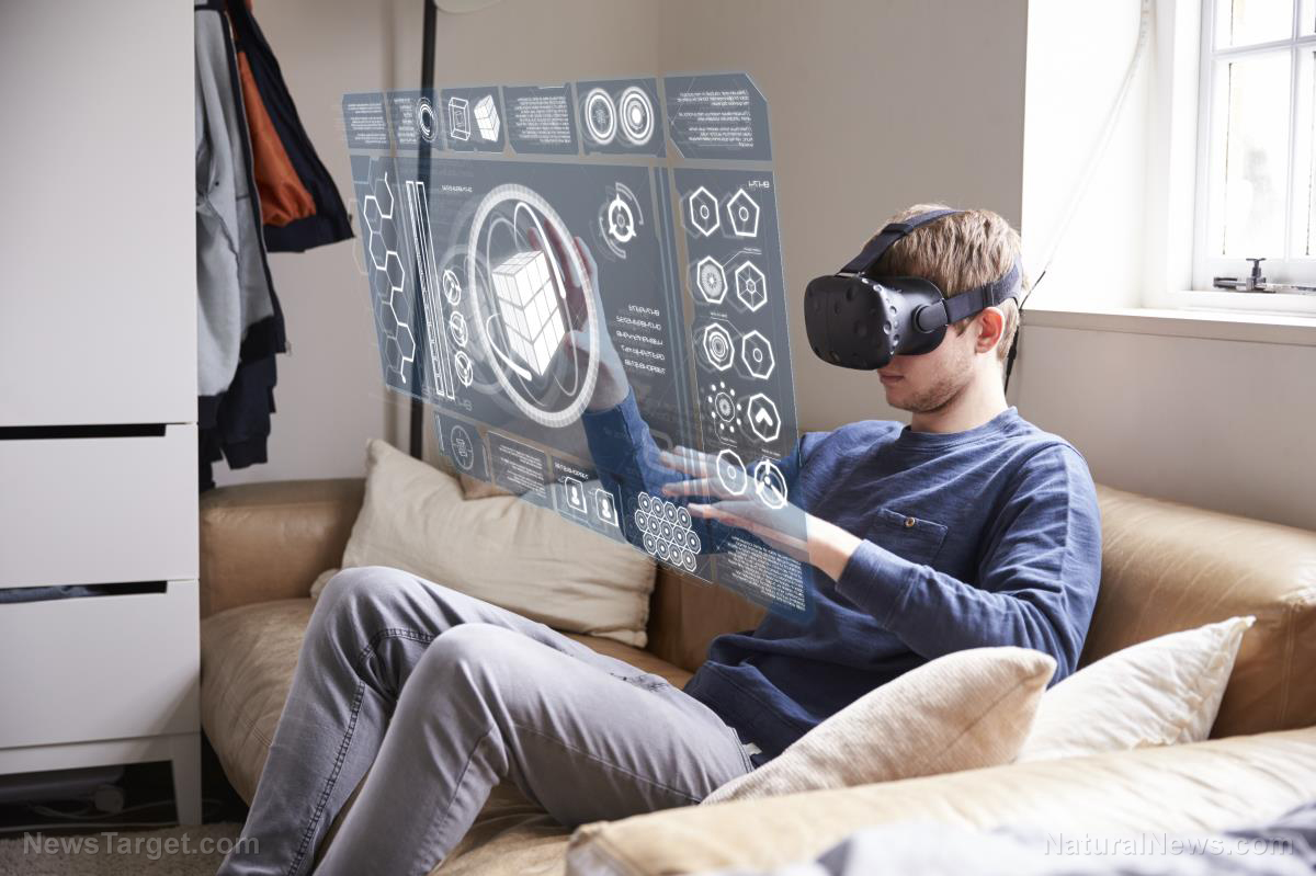 Image: Virtual escape: Hospital in-patients using VR to alleviate boredom, stress, pain