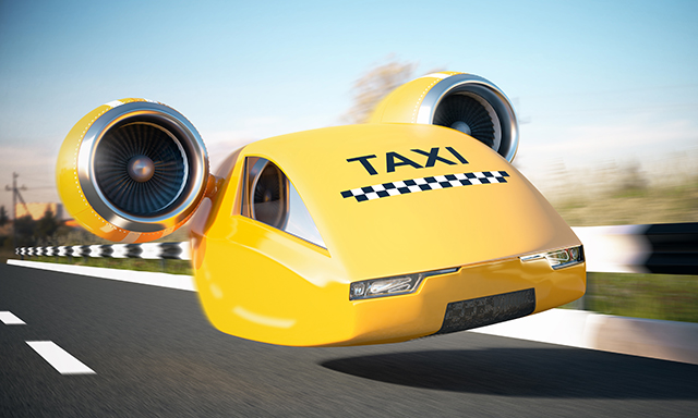 Image: The latest prototypes of flying cars do not require a pilot or piloting skills
