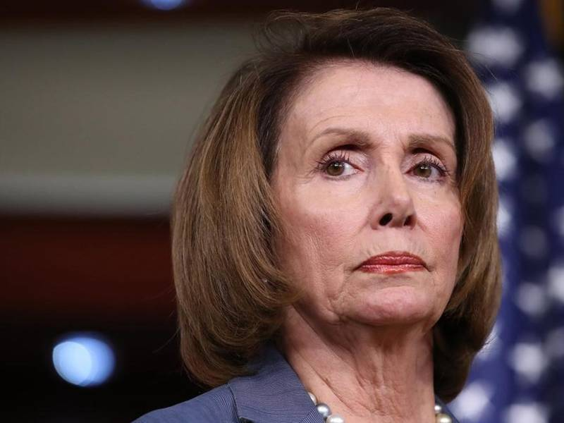 Image: America hater Nancy Pelosi now trying to CENSOR President Trump and prevent him from giving a State of the Union address