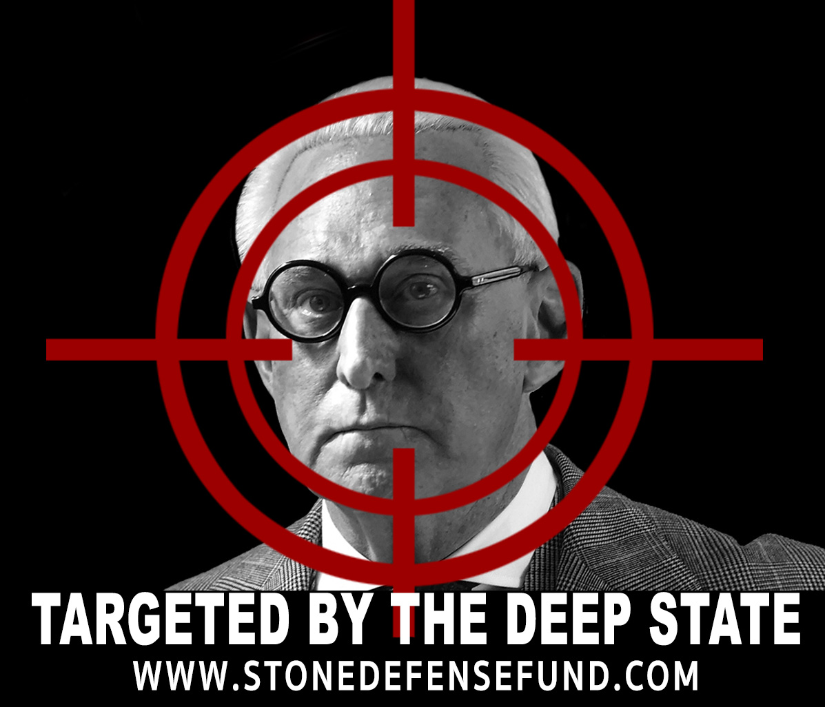 "Image: What a FARCE! Roger Stone arrested, charged with ""process crimes"" – NO collusion – while CNN tipped off to capture the theatrics on video"