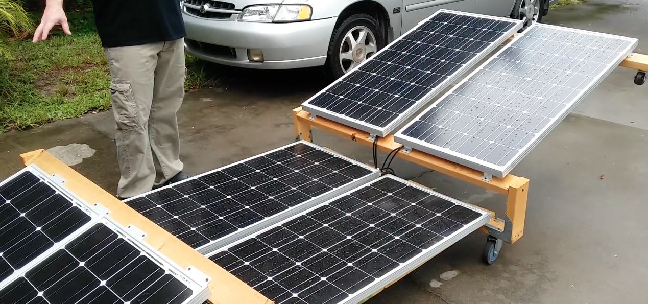 Image: A guide to building your own mobile solar power station