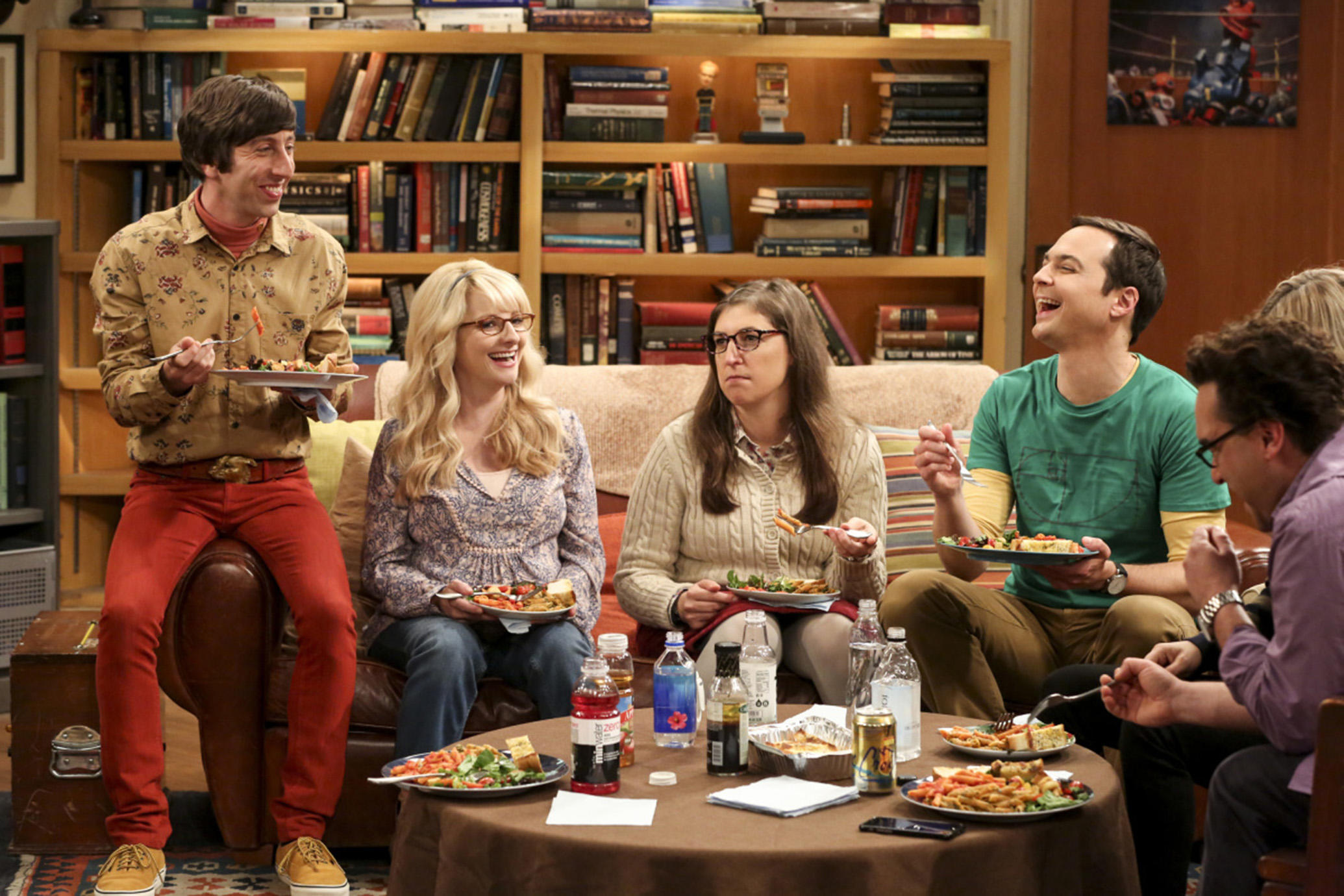 "Image: EATING THEIR OWN: Now even the progressive-leaning ""Big Bang Theory"" show is under attack by liberals for featuring intelligent men of science"