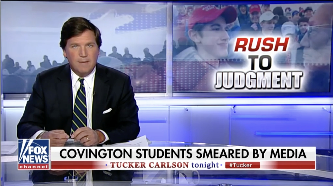Image: Lawyer: Fake news media must retract false reporting on Covington Catholic School students or face a wave of lawsuits for slander and defamation