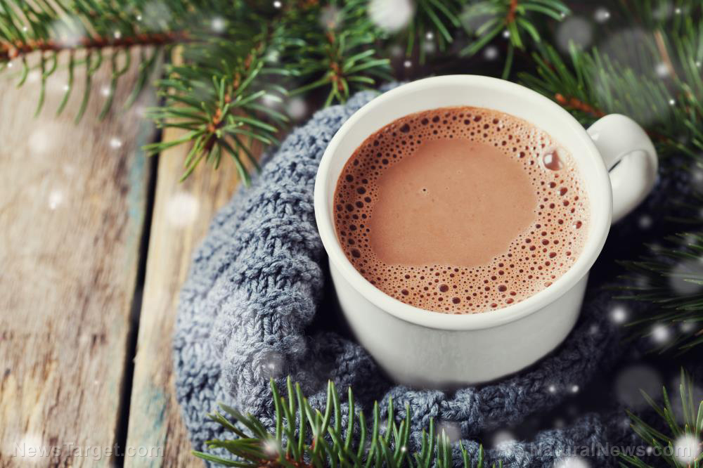 Image: Hot cocoa can stave off the flu