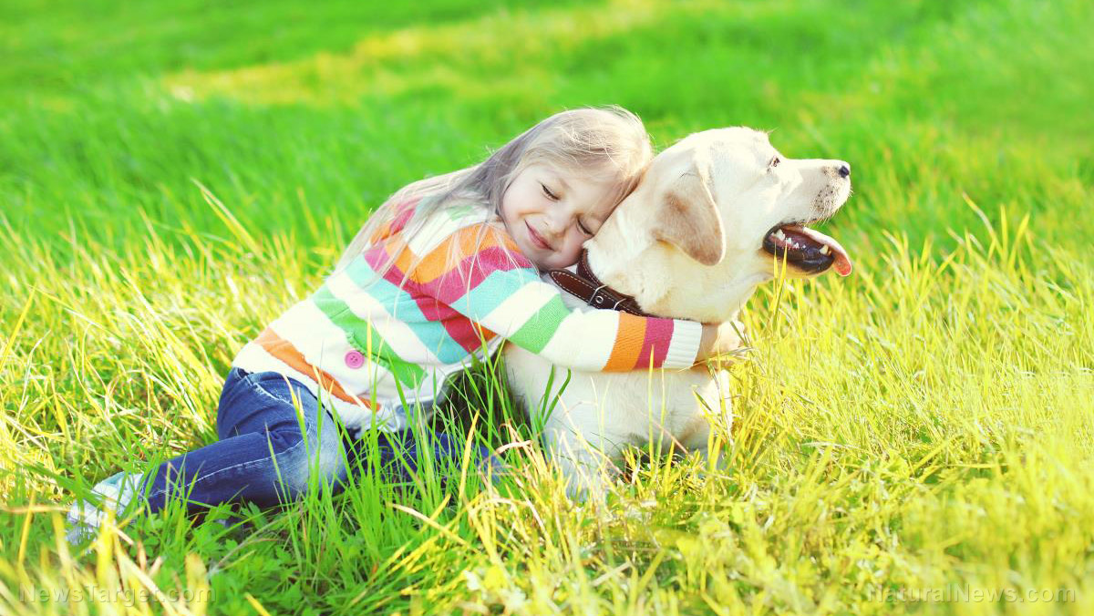 Image: Reduce your kids' risk of asthma and eczema: Get a dog